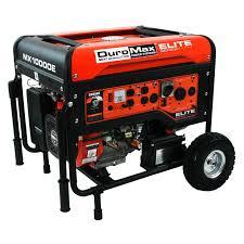 duromax elite 10000 watt portable gas electric start generator