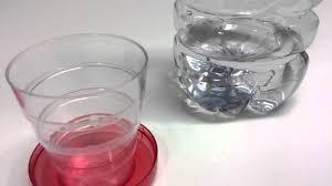 bicchieri richiudibili bicchiere rosso pieghevole