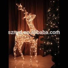 Christmas Decorations Light Up Deer sale lighted outdoor wire christmas deer for christmas