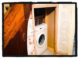 Go Down Stairs by Washing Machine Le Manoir Saint Gervais