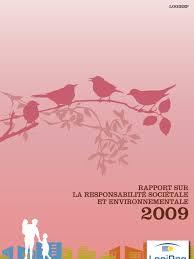 logirep siege social rapport rse 2009 logirep