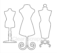 scraps clear acrylic shapes dress forms