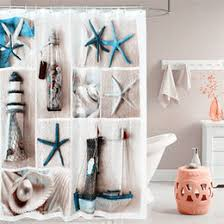 Shower Curtain Prices Seashell Shower Curtain Online Seashell Shower Curtain For Sale