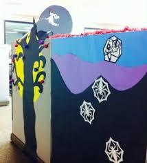 nightmare before door decorating competition door