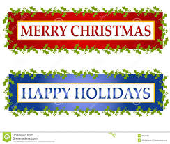 merry clip banners happy holidays