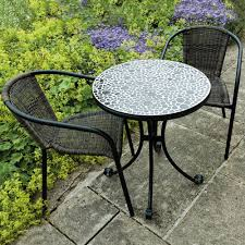 small garden bistro table and chairs outdoor bistro furniture europa leisure tavira garden set table and