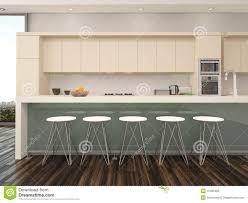 modern apartment interior open floor plan stock photo image