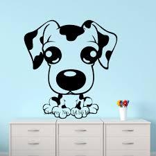 online get cheap poster dalmatians aliexpress com alibaba group e479 wall stickers home decor murals diy poster de