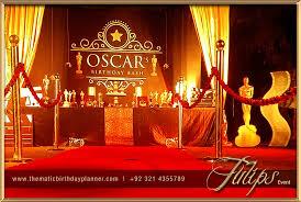 Oscar Dinner Ideas Academy Awards Party Tulips Event Management