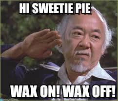 Pie Meme - hi sweetie pie miyagi funny meme on memegen