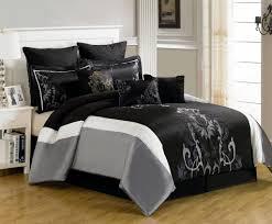 bedroom seville black bedding sets for modern master bedroom