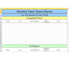 team progress report template team progress report template 3 professional and high quality