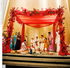 hindu wedding supplies diy mandap ideas i like the cloth the top the flowers are