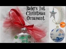 Christmas Ornaments For Baby Christmas Ornaments For Kids Baby U0027s First Christmas Ornament