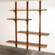 phenomenal wall mounted shelves modern ideas slice white shelf cb2