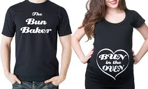 baby shower shirt ideas pregnancy t shirts bun in the oven and the bun baker