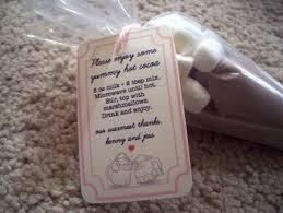 hot cocoa wedding favors diy hot cocoa cone favors writes