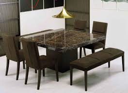 Marble Dining Room Table Get Extraordinary Fashionable Look With 2017 Marble Dining Tables