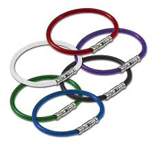 color key rings images Twisty twist lock flexible coated cable key ring jpg