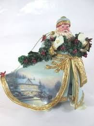 kinkade world santa s collection 1 ornament ashton