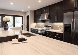 Espresso Cabinets Kitchen Amazing Contemporary Kitchen Design With Espresso Stained Kitchen