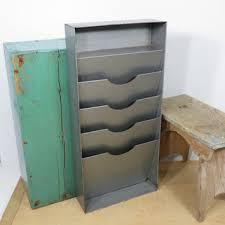 Desk Mail Organizer Vintage Industrial Mail Or File Organizer Vertical Desk Or Wall