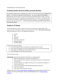 Best Ceo Resume by As Media Studies Revision Guide 2016