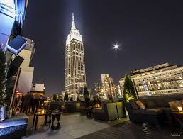 friday night party at monarch rooftop with best view of the empire