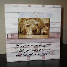 personalized pet memory frame in loving memory pet loss pet