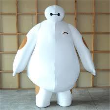 new big hero 6 best quality fancy dress costumes mascot