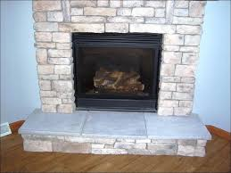 interiors marvelous stone gas fireplace painting a stone