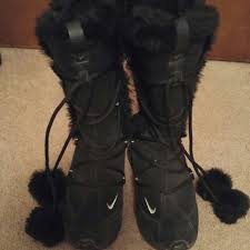 womens boots nike fur nike boots nike sneaker boots womens model aviation