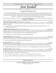 Resume Skills Summary Examples Culinary Resume Samples Resume With Objective And Summary Example
