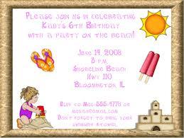 beach birthday invitations u2013 gangcraft net