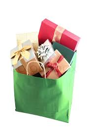 christmas shopping bags christmas shopping bag with colorful gift boxes isolated on white