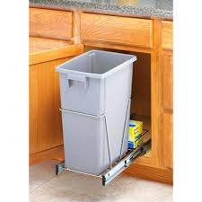 Trash Can Storage Cabinet Better Homes And Gardens Alluring Kitchen Trash Cans Plastic