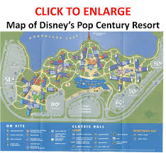 Walt Disney World Resorts Map review disney u0027s pop century resort
