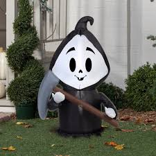 Flying Witch Decoration Witch Silhouette Lawn Decoration Halloween Witch Flying Broom