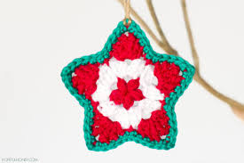 Free Crochet Patterns For Christmas Tree Ornaments Free Crochet Patterns For Star Ornaments Manet For