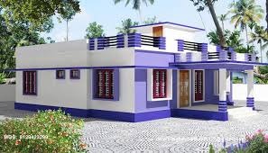 home design kerala single story house model home design