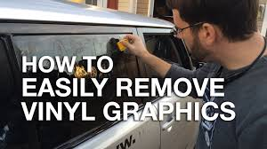 Old Ford Truck Decals - how to easily remove vinyl graphics and stickers from your car or