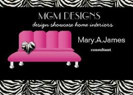 home interior business girly interior design and decorator business cards girly