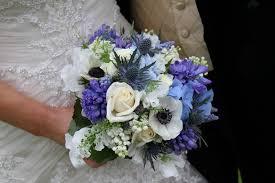wedding flowers january friendship blue wedding flowers