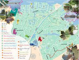Md Map Parks U0026 Walking Trail Map Ocean Pines Association Md