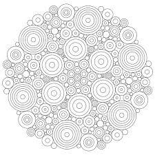 circles mandala coloring pages batch coloring