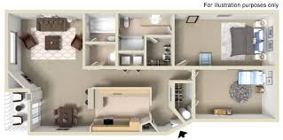 Walk In Closet Floor Plans 2 Bed 2 Bath Courts At Indian Canyon
