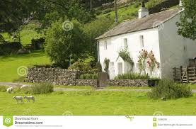 porch of a traditional english cottage stock photography image