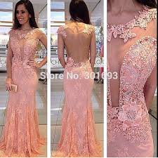 online get cheap pink dress bare back aliexpress com alibaba group