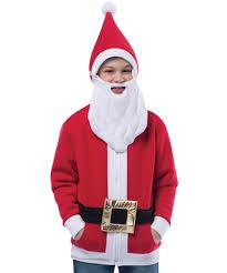 santa claus costume for toddlers child santa hoodie