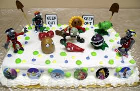 where to buy cake toppers plants vs zombies party supplies where to buy unique plants vs
